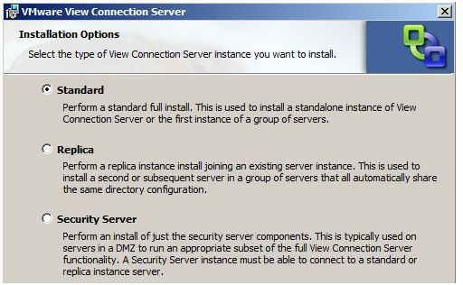 VMware View Connection Server