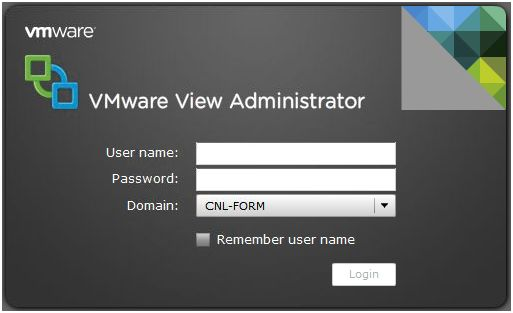 VMware View Manager