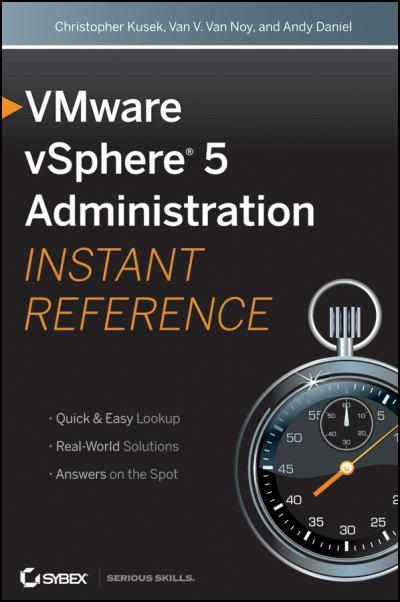 Libro VMware vSphere 5 Administration Instant Reference